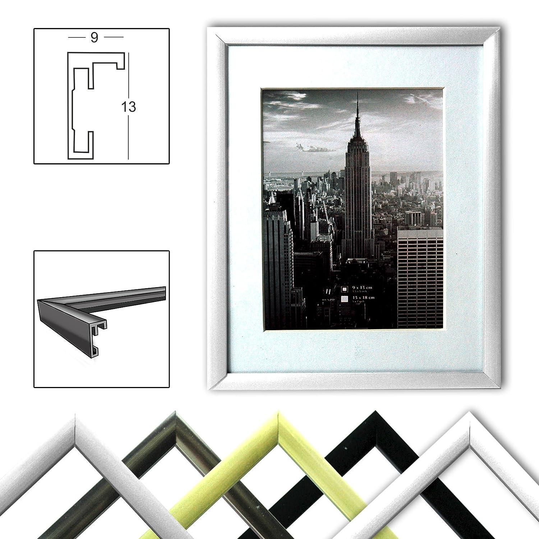 Manhattan Bilderrahmen Aluminium 10x15 bis 50x70: Amazon.de: Kamera