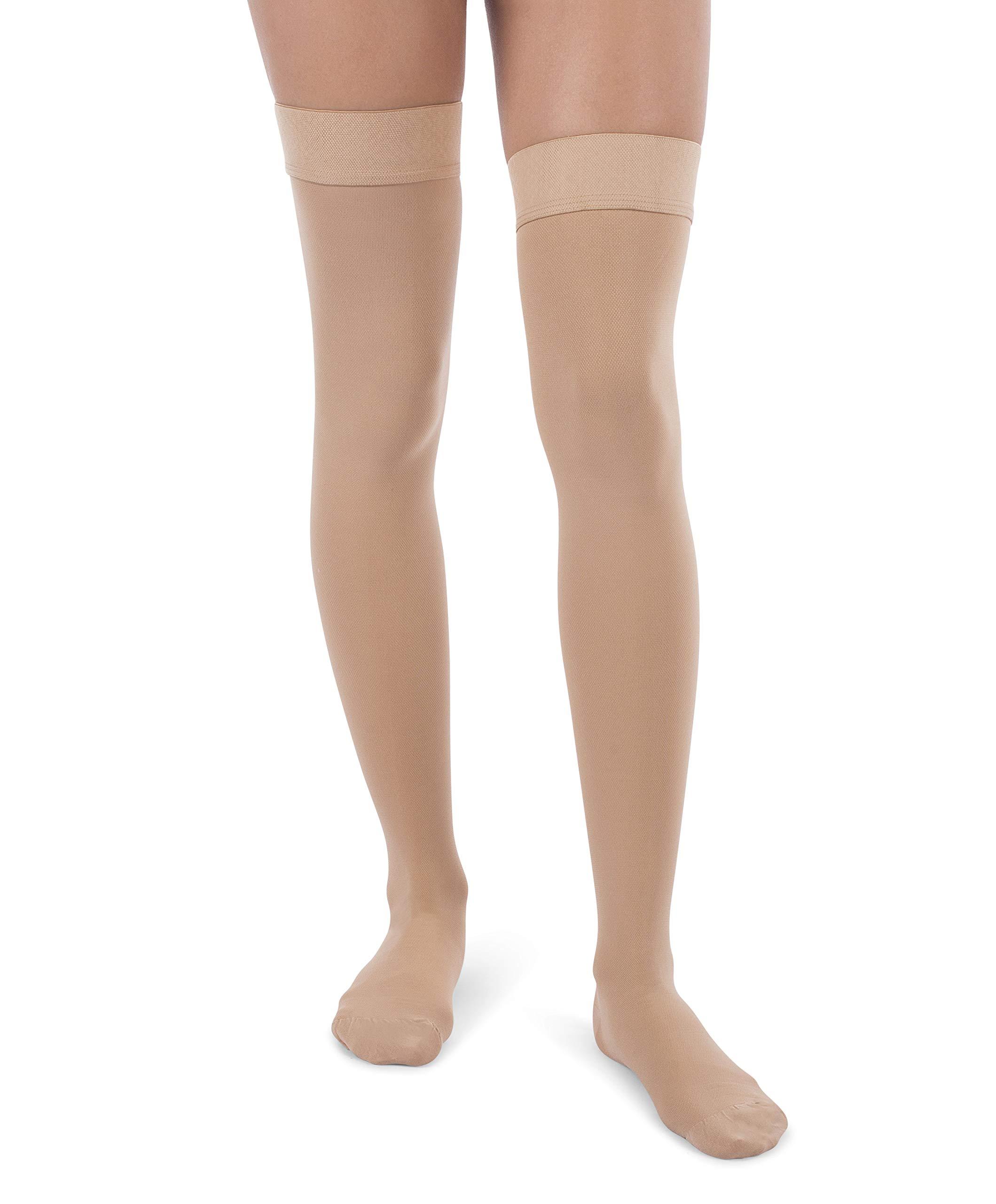 944a9d1a0e1 Amazon.com  Jomi Compression Thigh High Stockings Collection