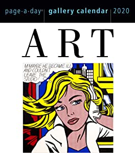 "Amazon.com : Art Page-A-Day Gallery Calendar 2020 [6.25"" x"