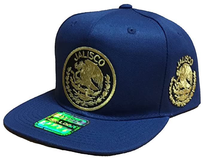 e83abed1936 Image Unavailable. Image not available for. Color  Jalisco Logo Federal 2  Logos Snapback Hat Navy