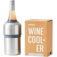 Huski Wine Cooler | Premium Iceless Wine Chiller | Keeps Wine or Champagne Bottle Cold up to 6 Hours | Award Winning…