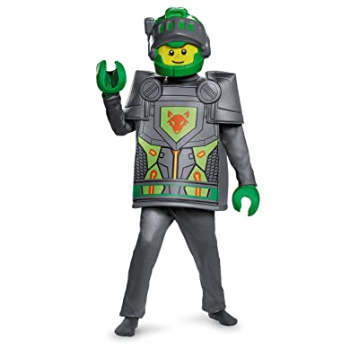 Aaron Deluxe Nexo Knights Lego Costume, Medium/7-8: Toys & Games