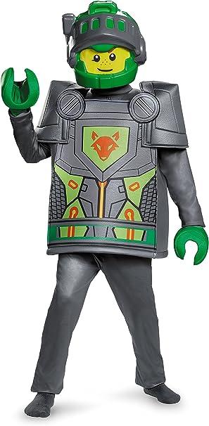 LEGO Nexo Knights 10419l Aaron Deluxe Disfraz (Tamaño pequeño ...