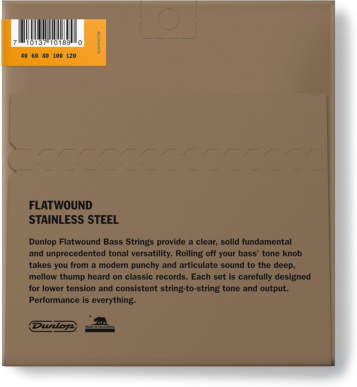 misura media 40//120 Muta di corde per chitarra bassa Jim Dunlop DBFS40120M leggere