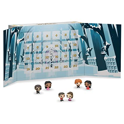 Harry Potter Advent Calendar.Amazon Com Funko Advent Calendar Harry Potter 2019 24pc Toys Games