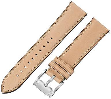 4689b7998c611 Amazon.com: Fossil Men's S221301 Estate Light Brown 22mm Leather ...
