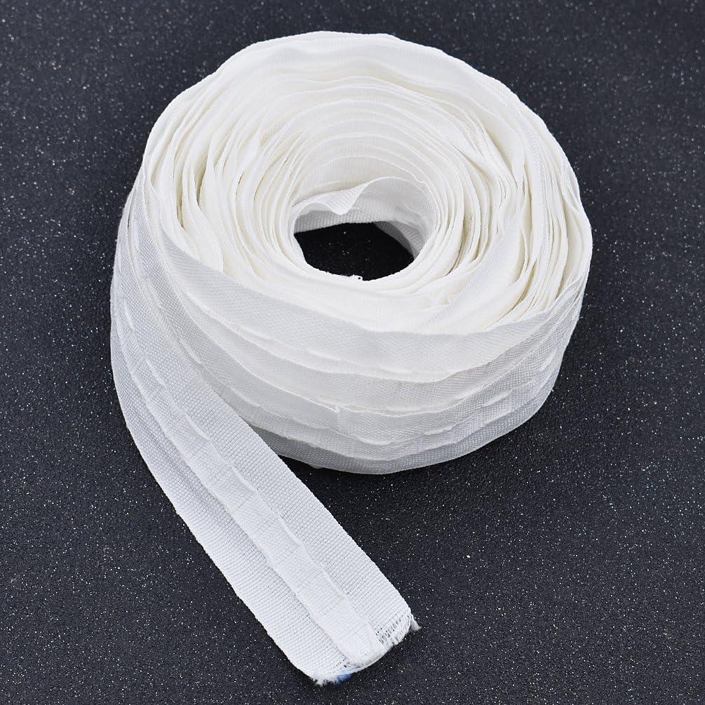 Kesheng Curtain Pleat Tape Curtain Accessory Tape Belt 1.34 Inch Wide x 13 Yards