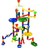 Marbulous Deluxe 100 Piece Marble Run - Childrens Construction Toy