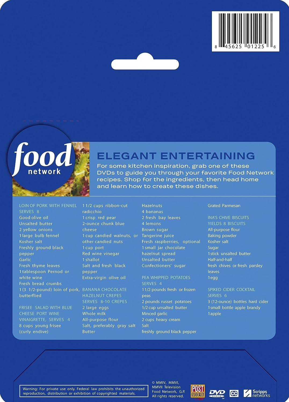 Amazon.com: Food Network Meals on DVD: Shop, Watch, Cook! Elegant ...