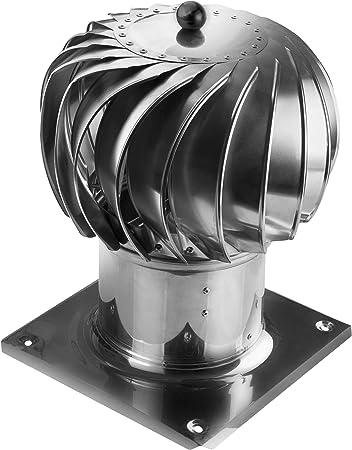 LTLGHY Kugelaufsatz Schornsteinaufsatz L/üftungsaufsatz Ofen Kamin Turbo F/ür Alle Wandbel/üftungs/öffnungen,110mm