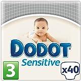 Dodot Sensitive - Pañales para bebé, talla 3 - 1 paquete x 40 Pañales