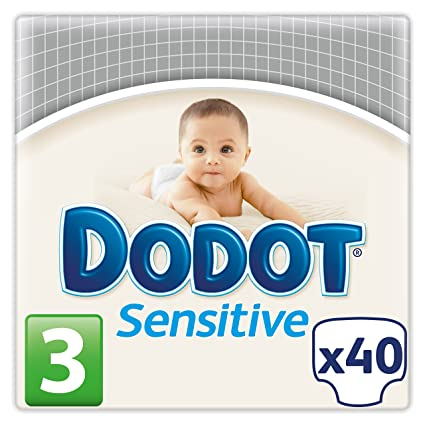 Dodot Pañales Sensitive, Talla 3 (5 - 10 kg) - 40 Pañales: Amazon.es: Amazon Pantry