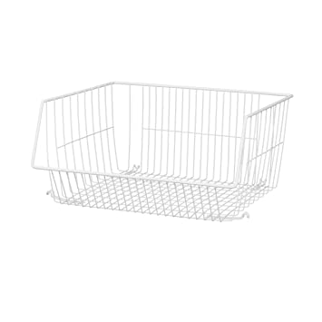 Amazon.com: ClosetMaid 1088 Stack Or Mount Storage Basket: Home U0026 Kitchen