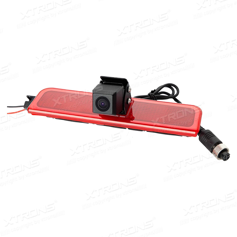 Amazon.com: XTRONS LED Brake Light Rear View Backup Reversing Camera for VW Volkswagen Caddy: Car Electronics