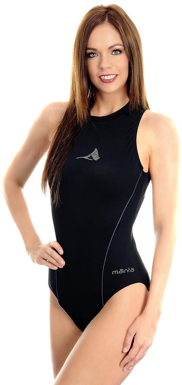 Manta Swim Women's Escala Badeanzug mit Reißverschluss