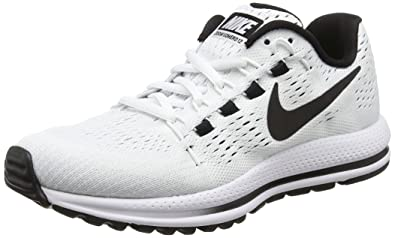 NIKE Women's Wmns Air Zoom Vomero 12, White/Black-Pure Platinum, 6.5