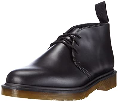 Amazon.com | Dr. Martens Mens Black Ray Leather Chukka Boots | Chukka