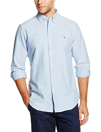 Polo Ralph Lauren Core Fit BD Ppc Camisa para Hombre: Amazon.es ...