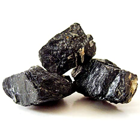 Divine Magic Black Tourmaline Healing Stones - Negative Energy Purifier (Set of 3 Stones. Approx 250+ grms ) Alternative Medicine (Health & Personal Care) at amazon