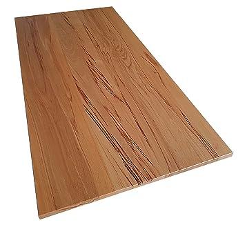 Tischplatte Holz Massiv Kernbuche 25mm Geölt Oder Unbehandelt