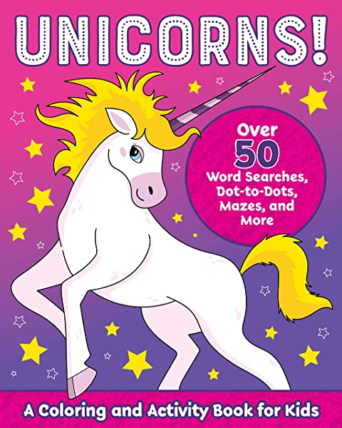 - Unicorns!: A Coloring And Activity Book For Kids (Kids Coloring Activity  Books): Rockridge Press: 9781641527507: Amazon.com: Books