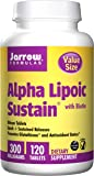 Jarrow Formulas Alpha Lipoic Sustain, Supports Cardiovascular Health, 300 mg, 120 Sustain  Tabs
