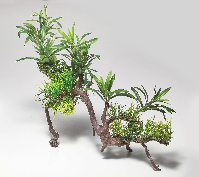 Pistache Pet–Belle Plante pour aquarium réaliste sur Racine 30, 5cm/31cm haute Pistachio Pet