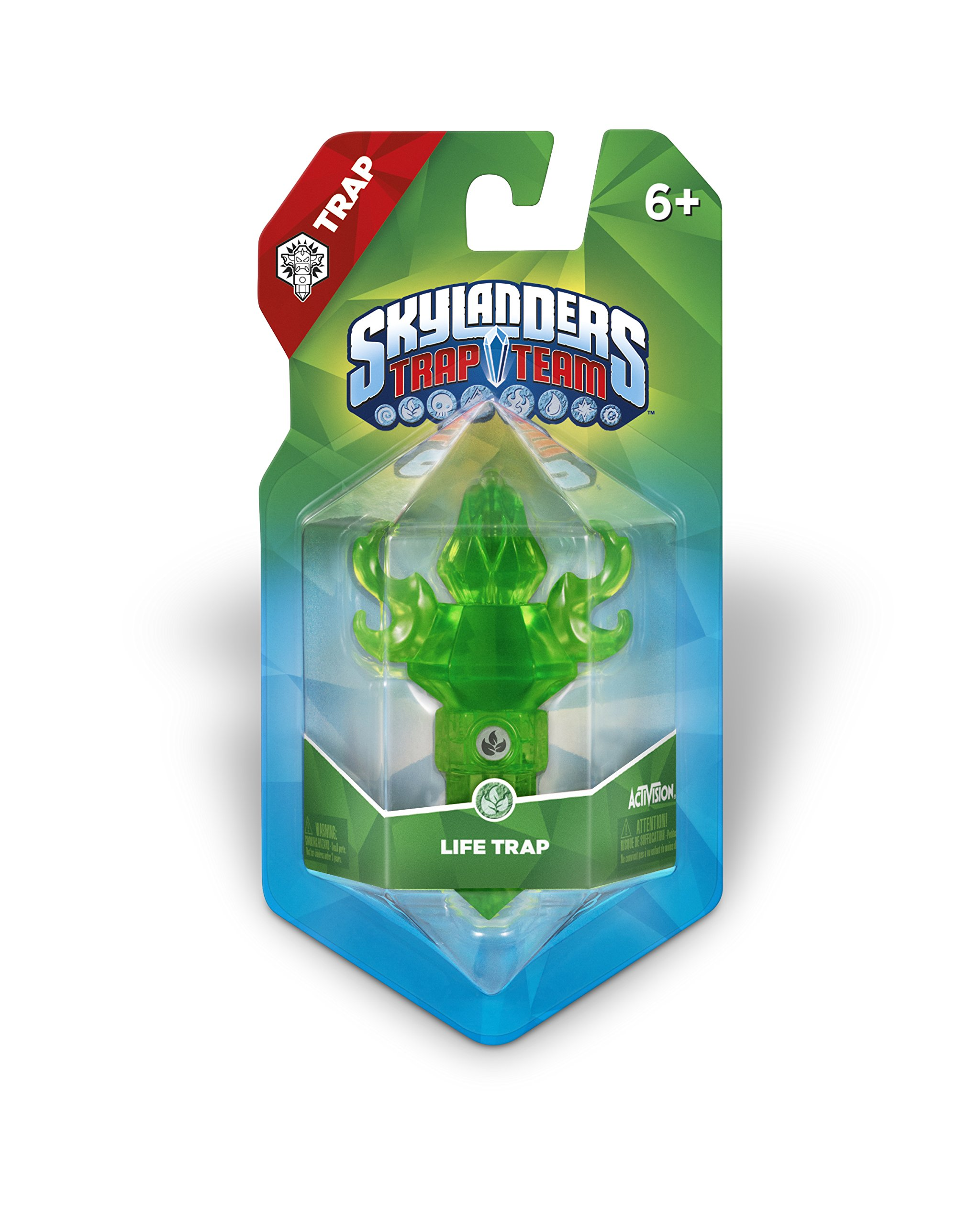 Skylanders Trap Team: Life Element Trap Pack