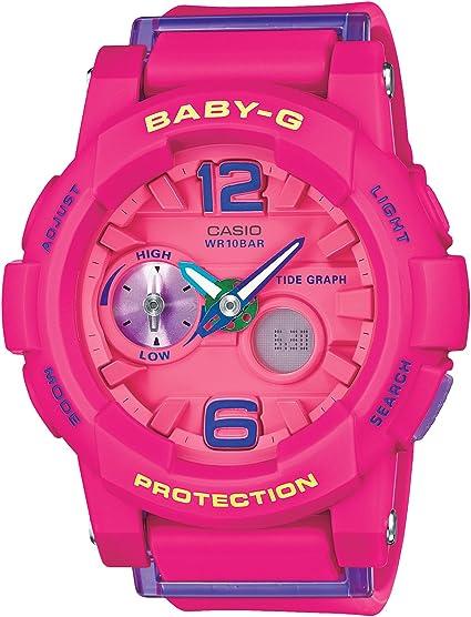 [カシオ] 腕時計 ベビージー G-LIDE BGA-180-4B3JF ピンク
