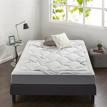 Amazon Com Sleep Revolution Cloud Memory Foam 8 Inch Mattress Grey