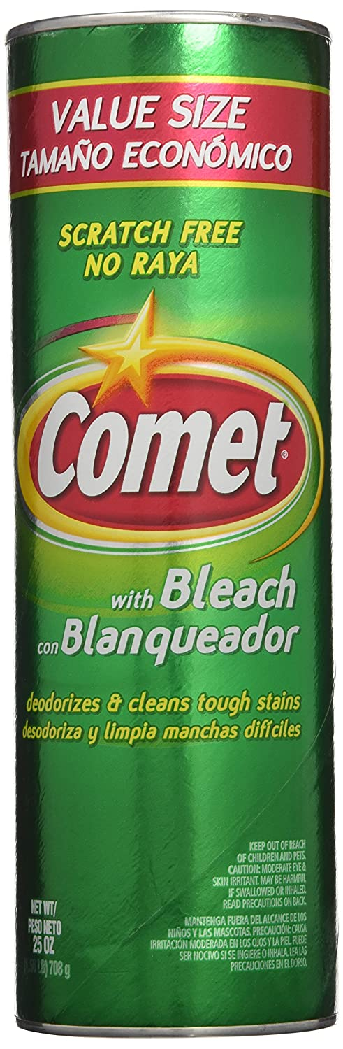 Amazon.com: Comet Cleanser with Bleach 28 ounce, (Pack of 2): Health & Personal Care