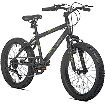 7 Speed Fat Tire Steel Frame Hardtail Kids Mountain