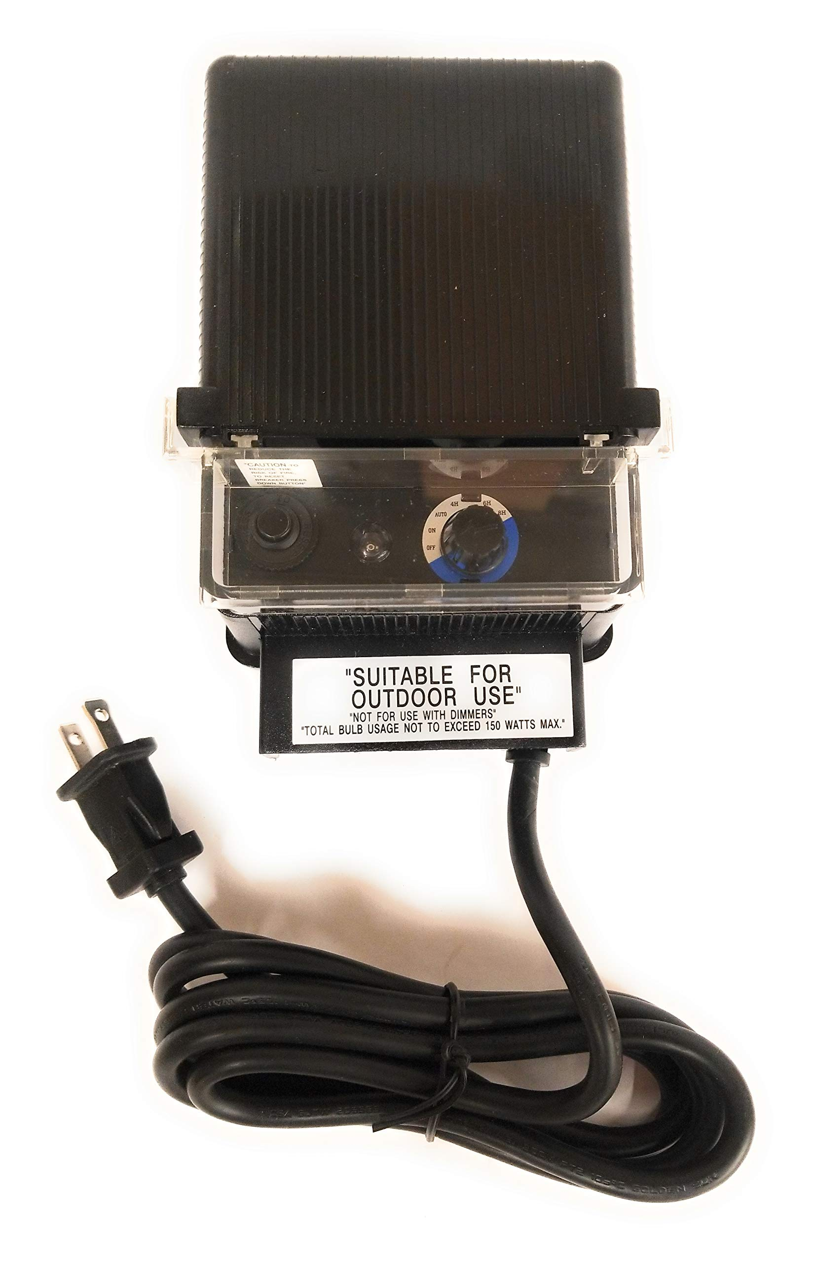 150W 12V Landscape Transformer with Photocell and Timer