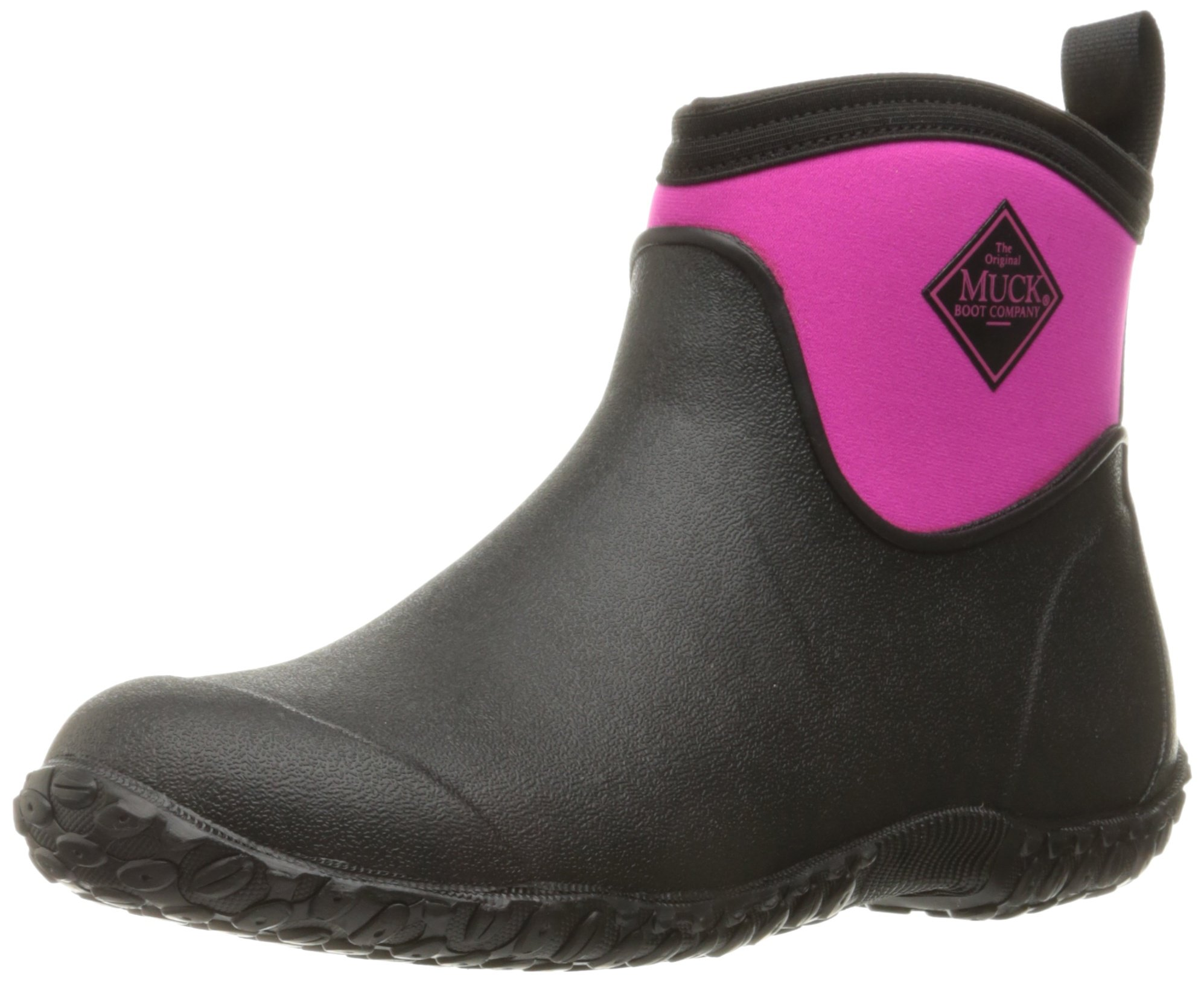 Muck Boot Women's Muckster 2 Ankle Snow Boot, Black/Pink, 8 US/8 M US