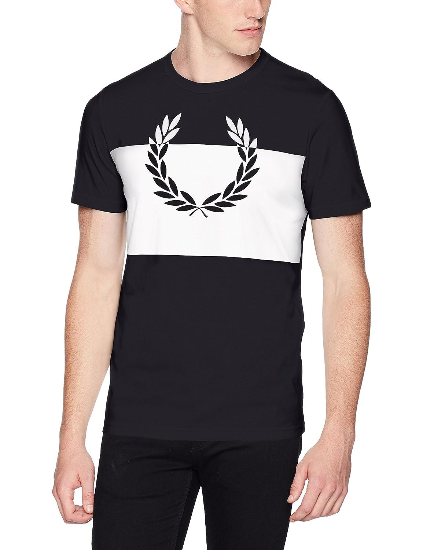 Fred Perry Men's Laurel Wreath Print T-Shirt M4546