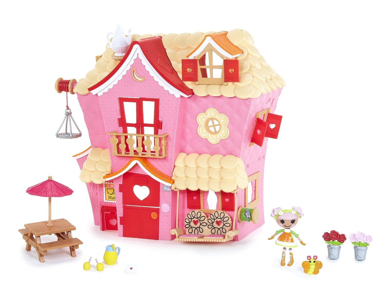 Amazon.com: MGA Mini Lalaloopsy Sew Sweet House Playhouse with ...