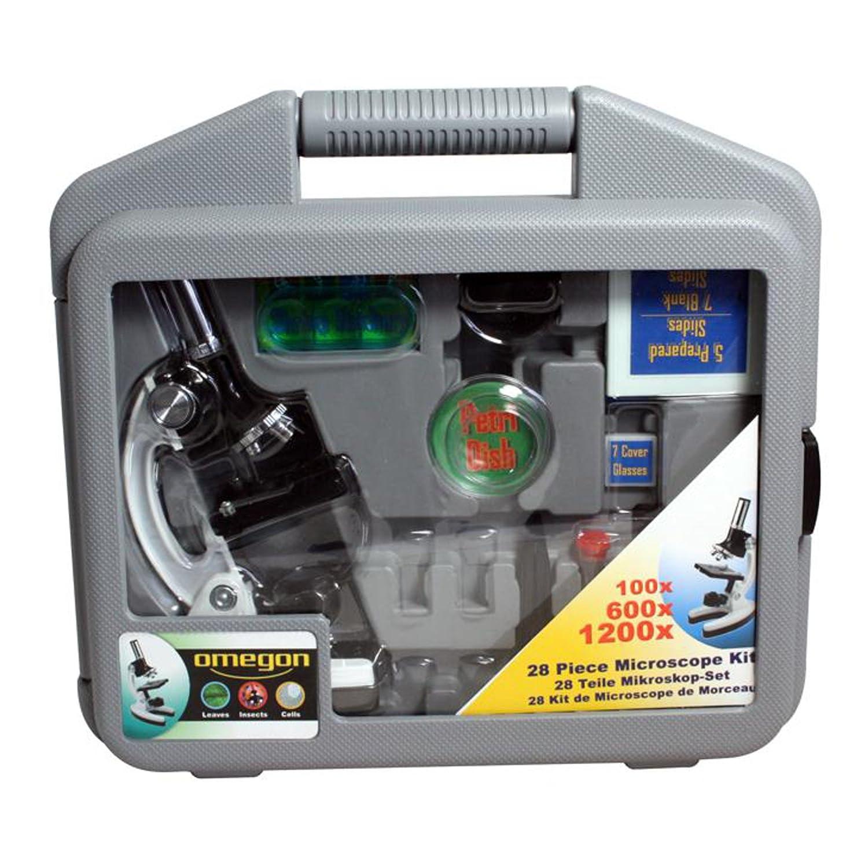 1200x Omegon MonoView Mikroskopier-Set