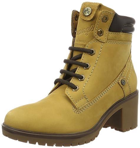 7ecf95fd9 Wrangler Sierra Creek, Women's Ankle Boots, Yellow (24 Tan Yellow), 4