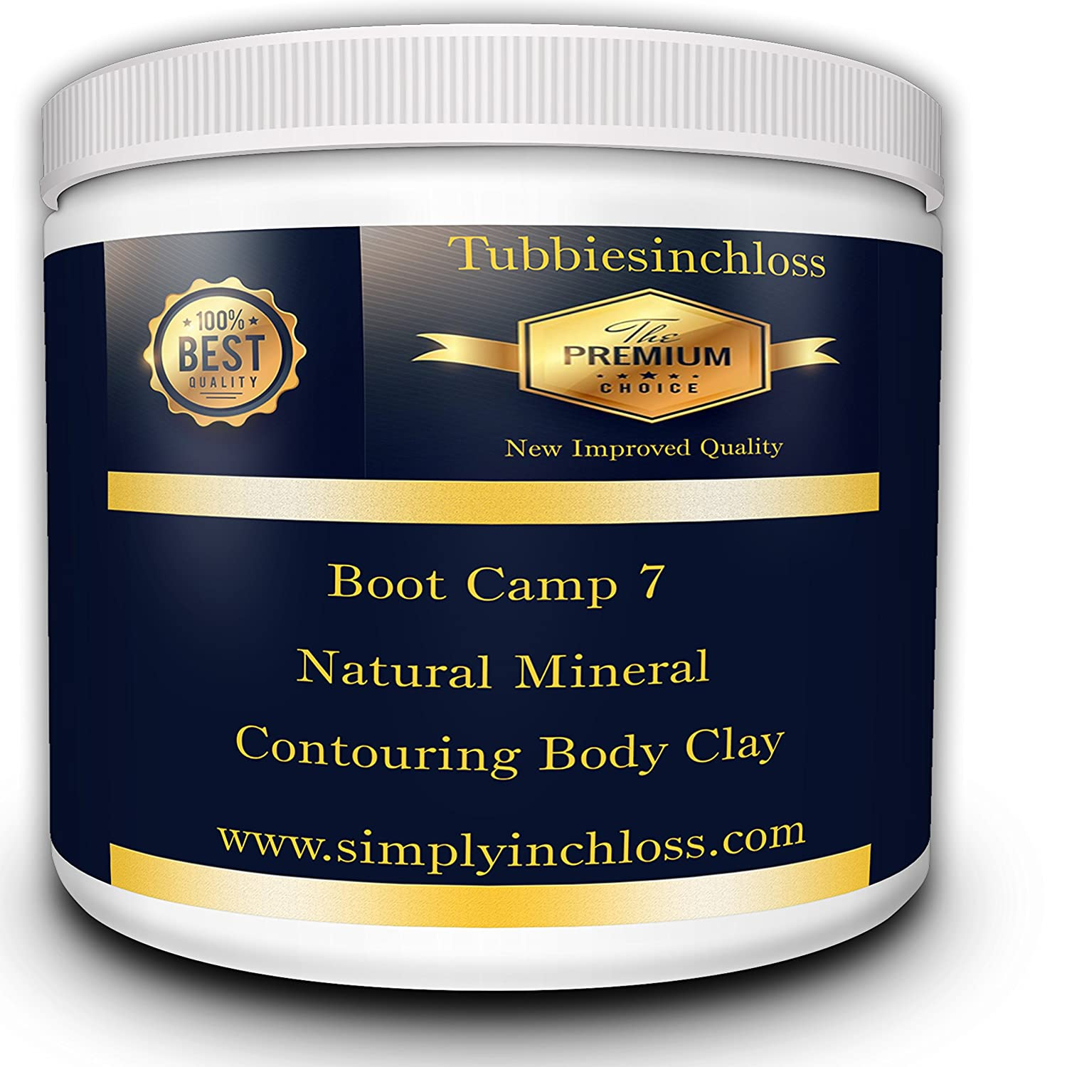 inch-loss Special offer new improved contouring body clay wrap many partial treatments 500ml divineclay 500ml197