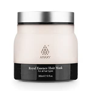 Royal Essence Honey Infused Hair Mask 10 oz (300 ml) - Deep Conditioning Plus Repairing Dry & Damaged Hair for Men & Women - Anti Aging Hair Care - Luxury Premium Quality - Made in Canada