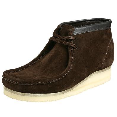 hot sale online 30ff6 c50bf Clarks Originals Men s Wallabee Boot, Brown Oily Leather, ...