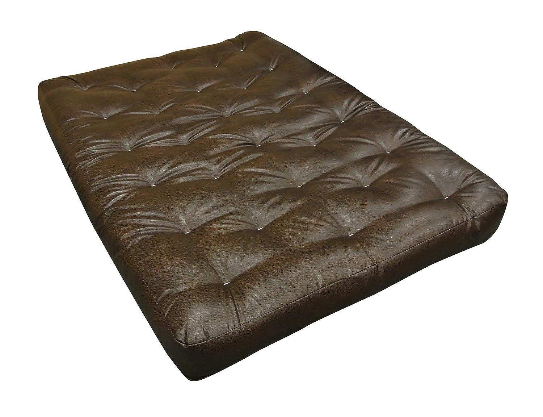 Twin Duct Gold Bond 0604A0-0106 All Cotton 39 W x 4 H x 54 L Loveseat Futon Mattress Black