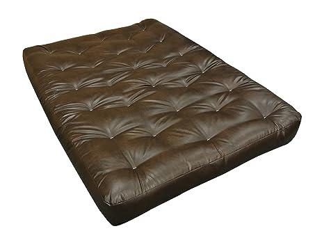 gold bond 0606l0 0160 6 u0026quot  all cotton futon mattress leather king amazon    gold bond 0606l0 0160 6   all cotton futon mattress      rh   amazon