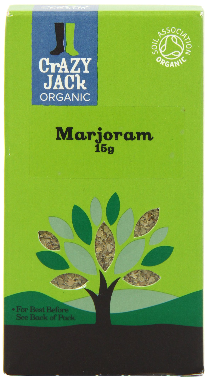 Crazy Jack Organic - Marjoram - 15g (Case of 6)