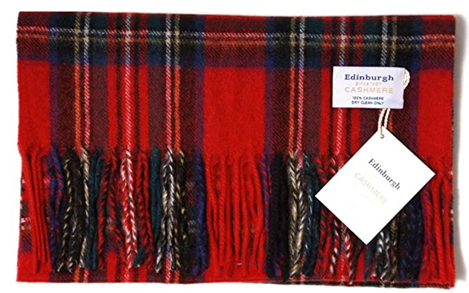 ed98baa6c5f63 Image Unavailable. Image not available for. Colour: Edinburgh 100% Cashmere  Scarf ...