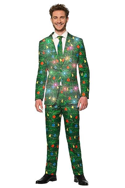 Suitmeister - Trajes de Navidad con Luces para Hombre con ...