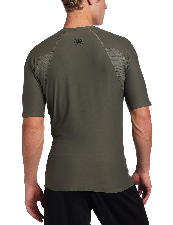 Amazon.com  BLACKHAWK! Men s Short Sleeve Crew Neck Engineered Fit ... a4e5c9134a1