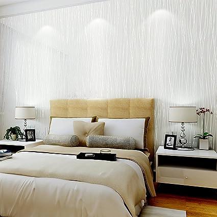 . Non Woven 3D Wallpaper  Print Embossed  Modern Stripe Fashion Environmental  Protection Bricks Wallpaper for Livingroom  Bedroom  Kitchen and Bathroom