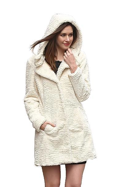pretty nice 2c56f e3ee0 Outlet! Adelaqueen Favoloso cappotto di pelliccia Adelaqueen per donna in  finto astrakan persiano, nuova collezione inverno, multi style …