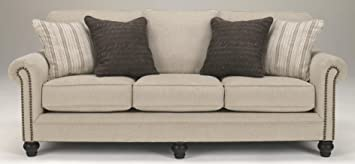 Ashley Furniture Signature Design - Milari Sofa - Classic Style Couch -  Linen